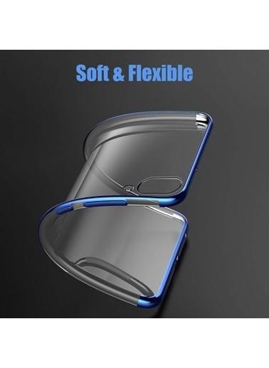 Microsonic Huawei P Smart 2019 Kılıf Skyfall Transparent Clear  Gümüş